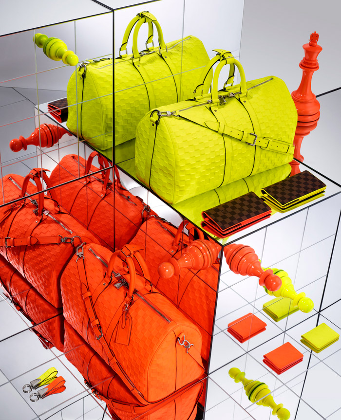 Louis Vuitton's Damier Signature Collection, Spring 2013 2