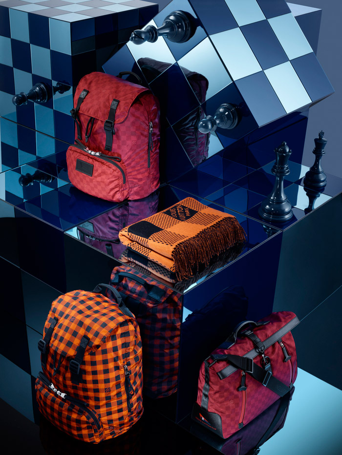 Louis Vuitton's Damier Signature Collection, Spring 2013 3