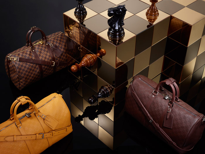 Louis Vuitton's Damier Signature Collection, Spring 2013 6