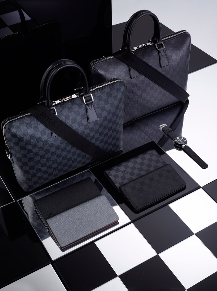 Louis Vuitton's Damier Signature Collection, Spring 2013 9