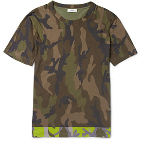 Valentino Spring 2013 Camo At Mr Porter