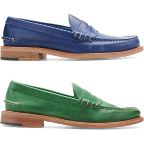 Summer Style: Walk-Over Penny Loafers