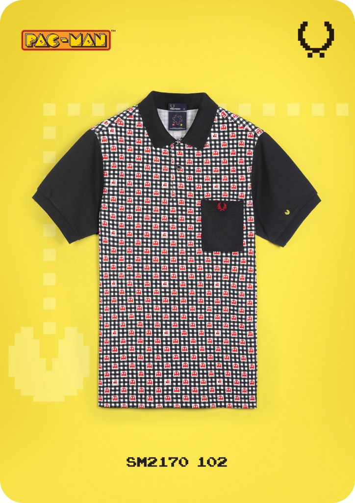 Limited Edition Fred Perry X Pac Man X Ten Do Ten Collection