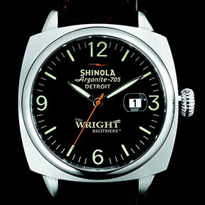 The Wright Brothers Limited Edition Watch by Shinola