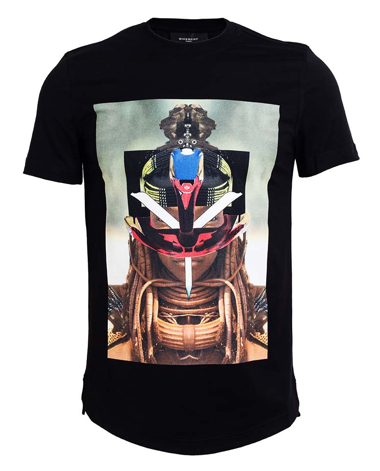 Givenchy-SS14-Tribal-Print-T-shirt