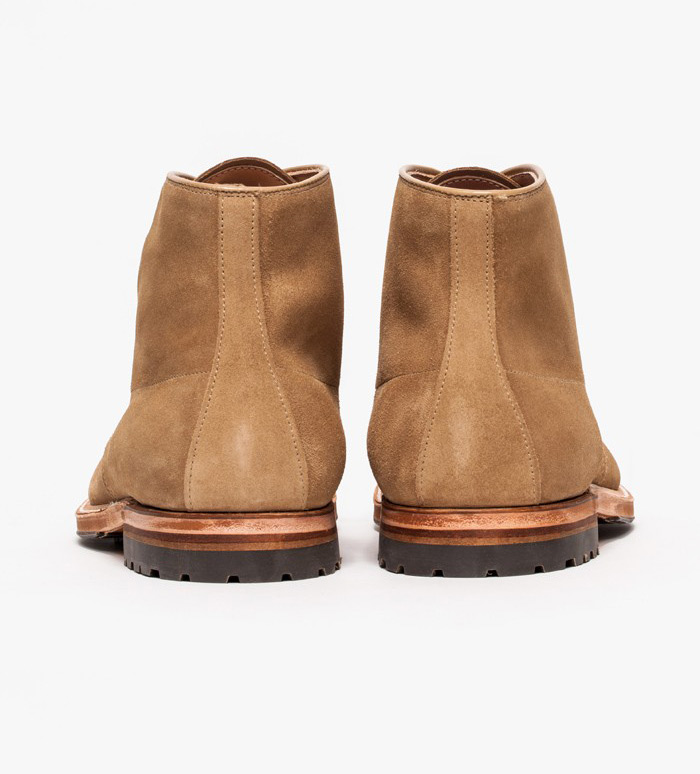 Alden x Need Supply Co Union Hill Indy Boot back