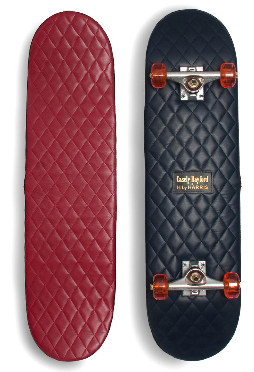 Casely-Hayford H by Harris Leather Skateboards