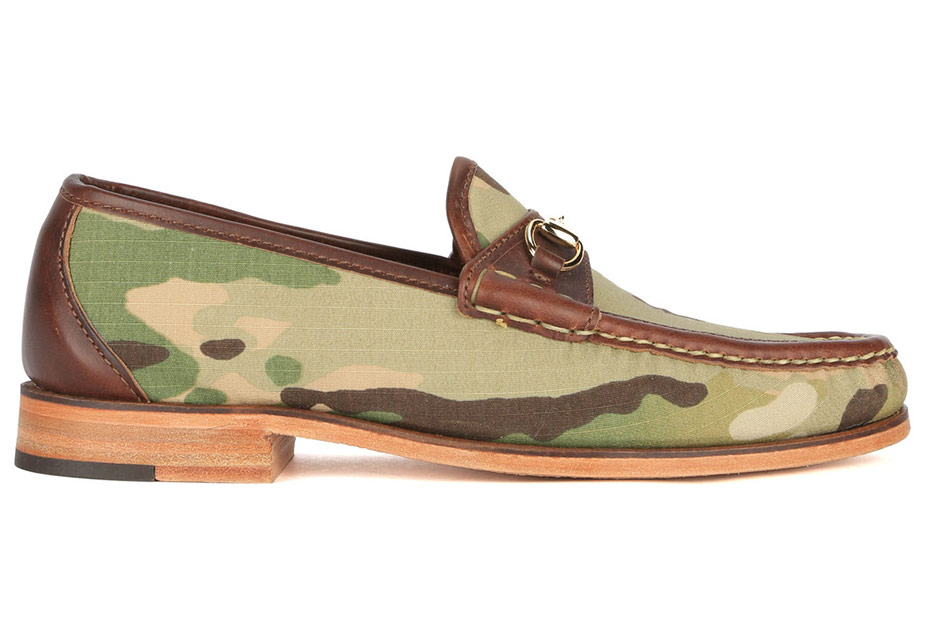 Eastland X Mark McNairy Camo Loafers side view