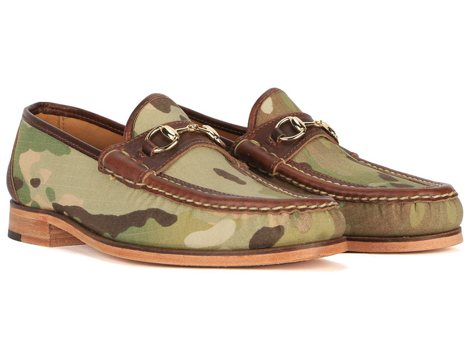 Eastland X Mark McNairy Camo Loafers