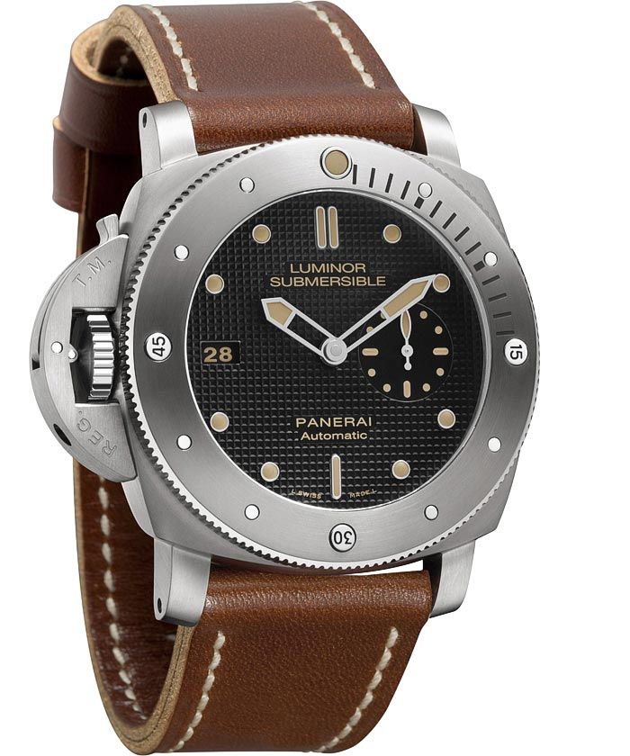Panerai Submersible 1950 Left-Handed