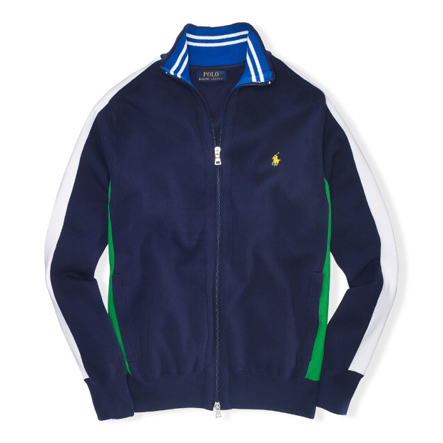 Ralph Lauren 2014 US Open Collection Mockneck