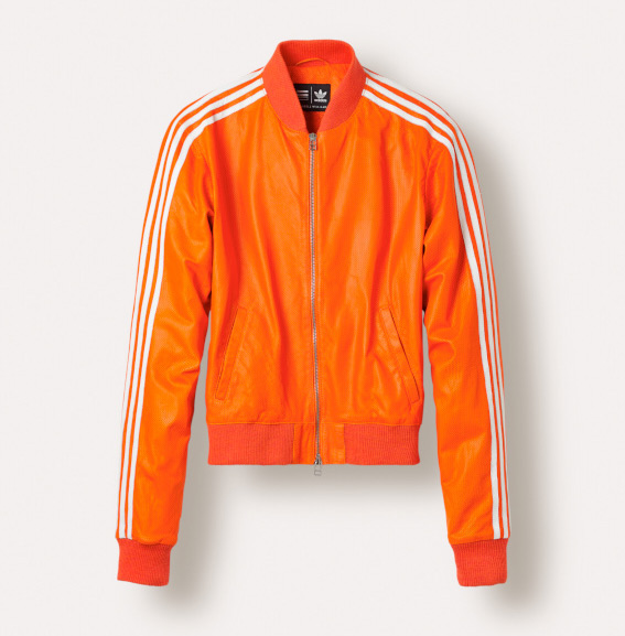 Adidas Originals X Pharrell Track Jackets_Orange