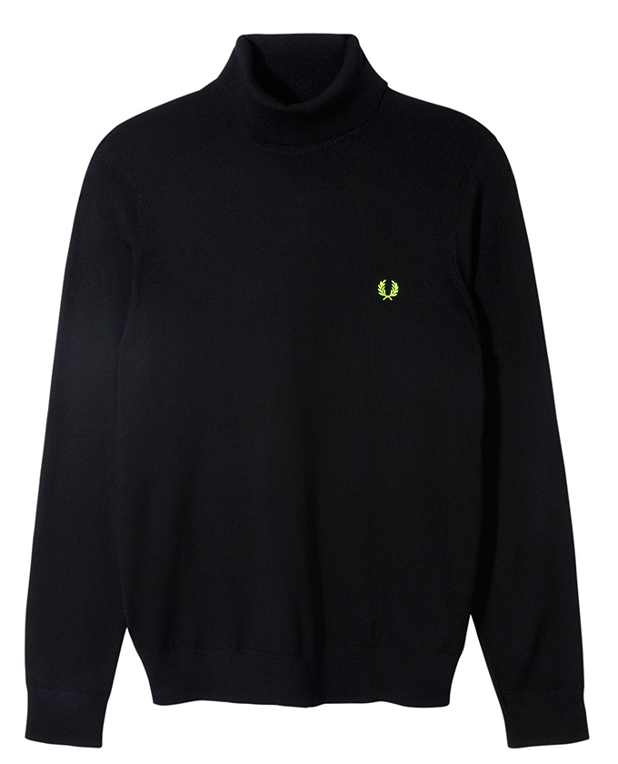 Fred Perry Soho Neon_Turtleneck