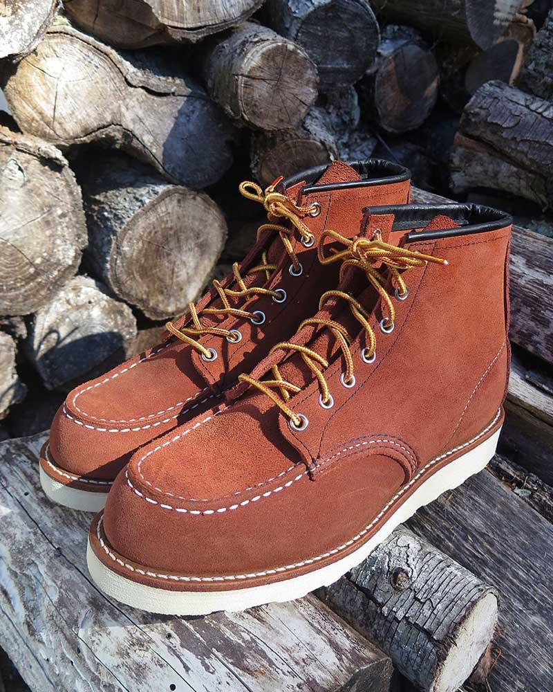 Red Wing X J.Crew Copper Suede 6\