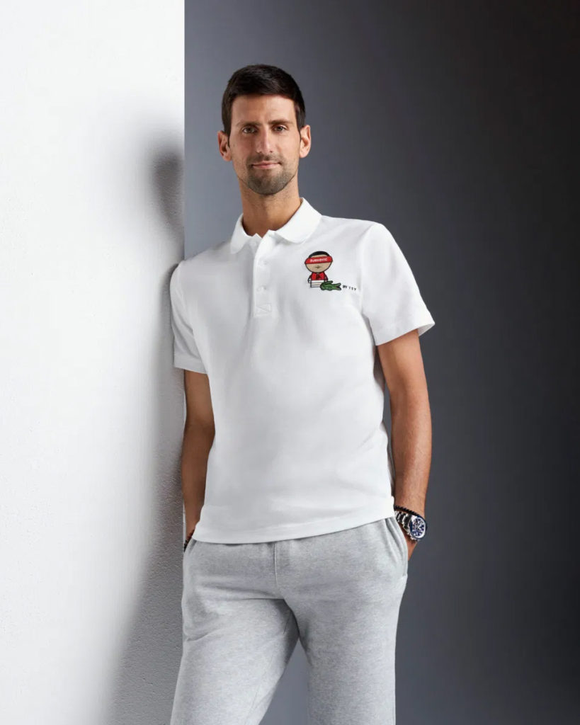 Lacoste Novak Djokovic X Youssef Sy Capsule Collection